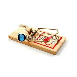 Trampa clásica para ratones 12 x 6 cmts (mediana)