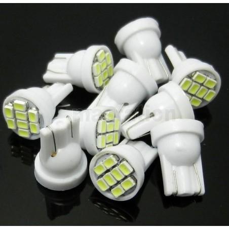 5 bombillas T10 192 168 W5W 3020