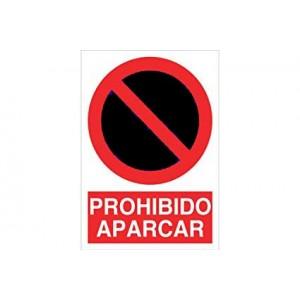 CARTEL DE PROHIBIDO APARCAR