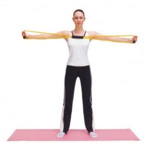 Tubo elástico para entrenamiento fitness