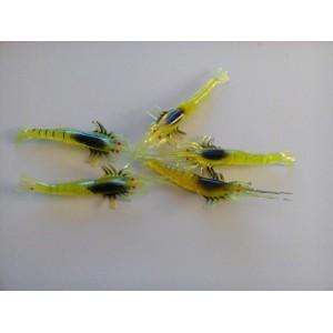 5 señuelos modelo camarón
