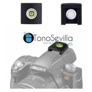 Mini nivel para cámaras reflex
