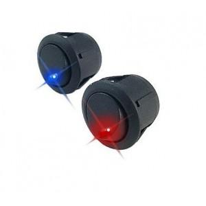 2 Interruptores circular led