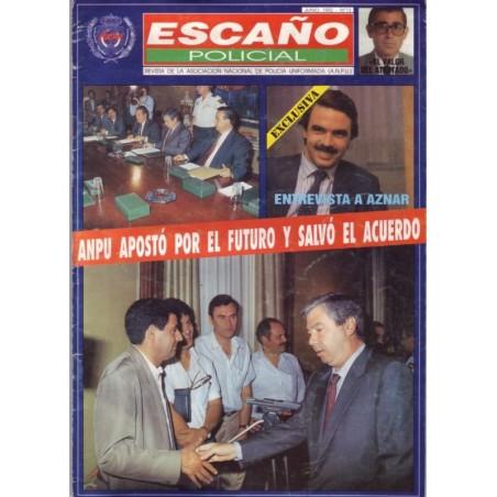 Escaño Policial nº 13 Junio 1992