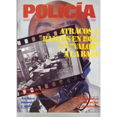 Policia nº 17 Julio-Agosto 1986