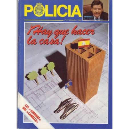 Policía nº 43 diciembre 1988