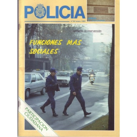 Policía nº 64 enero 1991