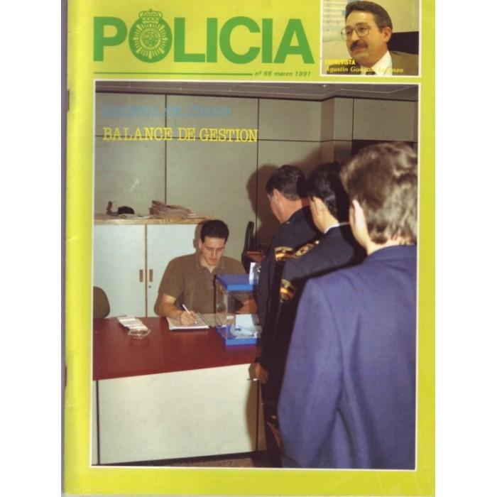 Policía nº 66 marzo 1991