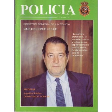 Policía nº 72 octubre 1991