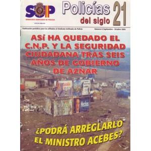 Policías del siglo 21 - nº 6 septiembre-octubre 2002