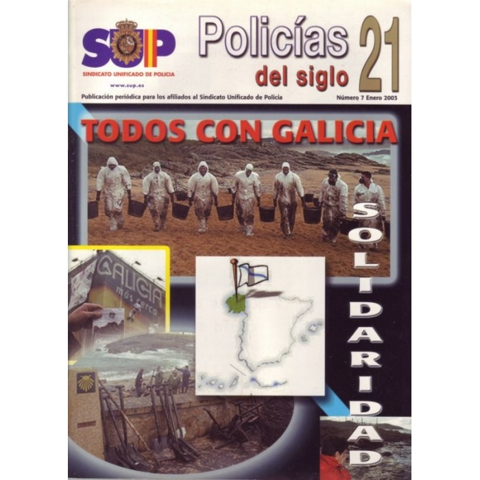 Policías del siglo 21 - nº 7 enero 2003