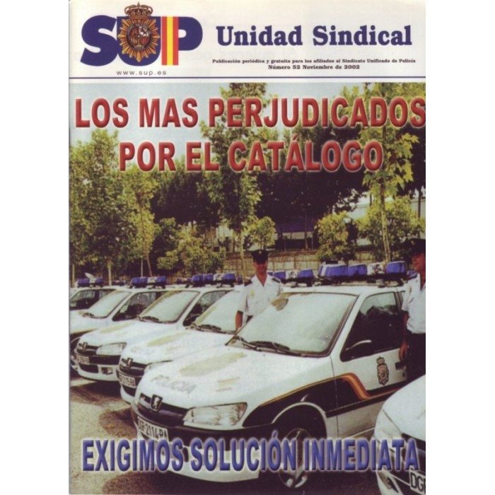 SUP unidad sindical nº 52