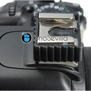 Adaptador soporte para flash