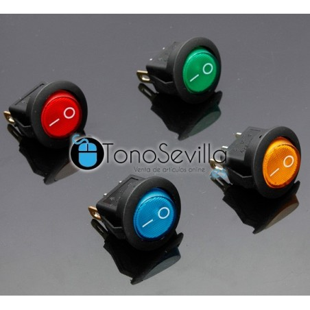 Interruptor ON/OFF con led