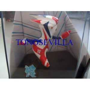 Mascota Mandeville - Juegos Olímpicos Londres 2012