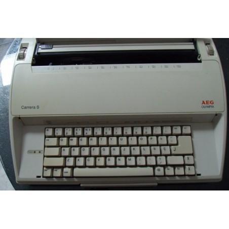 Máquina de escribir eléctrica Olympia AEG Carrera S